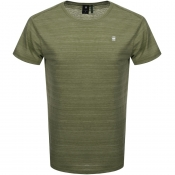 G Star Raw Starkon Logo T Shirt Green