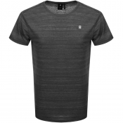 Product Image for G Star Raw Starkon Logo T Shirt Black