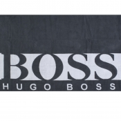 BOSS HUGO BOSS Beach Towel Grey