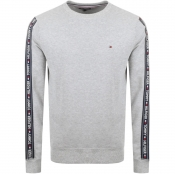 Tommy Hilfiger Loungewear Taped Sweatshirt Grey