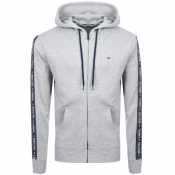 Product Image for Tommy Hilfiger Icon Logo Zip Hoodie Grey