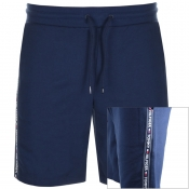 Tommy Hilfiger Loungewear Tape Logo Shorts Navy