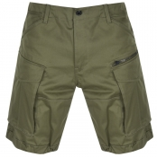 Product Image for G Star Raw Rovic Loose Shorts Green