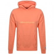 Product Image for Billionaire Boys Club Logo Hoodie Orange