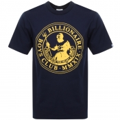 Billionaire Boys Club Poseidon Logo T Shirt Navy