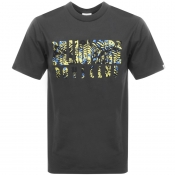 Billionaire Boys Club Camo Logo T Shirt Grey