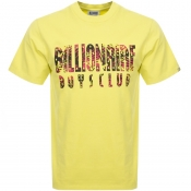 Billionaire Boys Club Camo Logo T Shirt Yellow