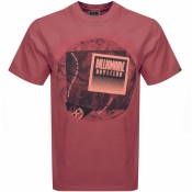 Billionaire Boys Club World Map T Shirt Red