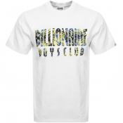 Billionaire Boys Club Fish Camo Logo T Shirt White