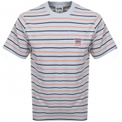 Billionaire Boys Club Stripe Pocket T Shirt Grey