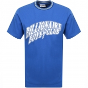 Billionaire Boys Club Gamer Logo T Shirt Blue