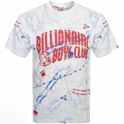 Billionaire Boys Club Nautical Logo T Shirt White