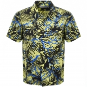 Billionaire Boys Club Short Sleeved Shirt Yellow
