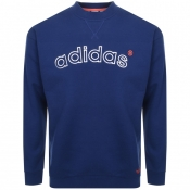 Product Image for adidas Originals 90s ARC Logo Sweatshirt Navy