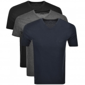 Product Image for BOSS HUGO BOSS Triple Pack V Neck T Shirt