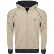 Product Image for BOSS HUGO BOSS Full Zip Hoodie Grey