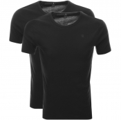 G Star Raw 2 Pack Base T Shirt Black
