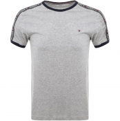 Tommy Hilfiger Loungewear Round Neck T Shirt Grey