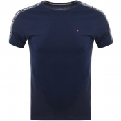 Tommy Hilfiger Round Neck T Shirt Navy