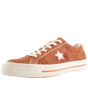 Product Image for Converse One Star Suede Trainers Brown