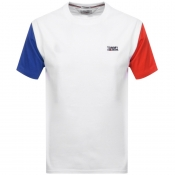 Product Image for Tommy Jeans Colour Block T Shirt White