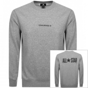 Product Image for Converse All Star Logo Sweatshirt Grey