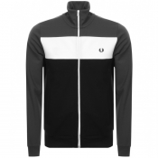Product Image for Fred Perry Colour Block Track Jacket Grey