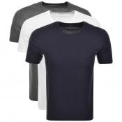 Product Image for BOSS HUGO BOSS Multi Colour Triple Pack T Shirts