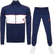 Money Sig Ape Full Zip Tracksuit Navy