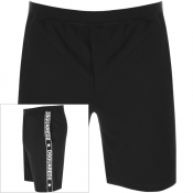 Product Image for DSQUARED2 Logo Sweat Shorts Black