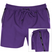 Calvin Klein Swim Shorts Purple
