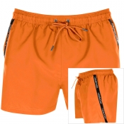 Calvin Klein Swim Shorts Orange