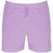Carhartt Chase Swim Shorts Purple