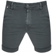 Replay Lehoen Denim Shorts Green