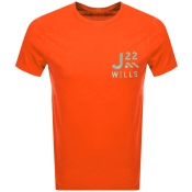 Product Image for Jack Wills Barford Short Sleeved T Shirt Orange