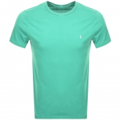 Jack Wills Sandleford Short Sleeved T Shirt Green