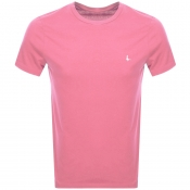 Jack Wills Sandleford Short Sleeved T Shirt Pink
