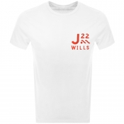 Product Image for Jack Wills Barford Short Sleeved T Shirt White