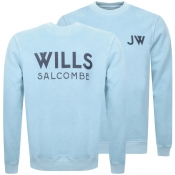 Jack Wills Fairford Graphic Sweatshirt Blue