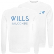 Jack Wills Fairford Graphic Sweatshirt White