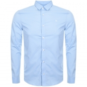 Jack Wills Hinton Stretch Shirt Blue