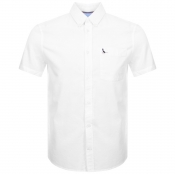 Jack Wills Stableton Short Sleeved Shirt White