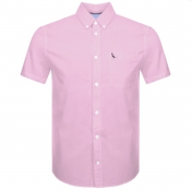 Product Image for Jack Wills Stableton Short Sleeved Shirt Pink