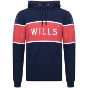 Jack Wills Alexander Cut And Sew Hoodie Navy