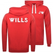 Product Image for Jack Wills Thurlby Popover Hoodie Red