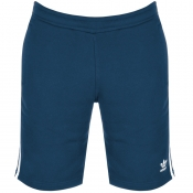 Adidas Originals Three Stripe Shorts Blue
