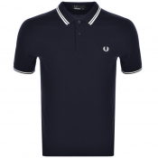 Product Image for Fred Perry Twin Tipped Polo T Shirt Navy