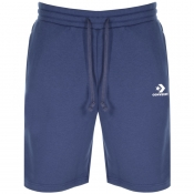 Product Image for Converse Star Chevron Logo Jersey Shorts Navy