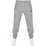 Converse Star Chevron Logo Jogging Bottoms Grey