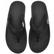 Product Image for Lacoste Croco Flip Flops Black